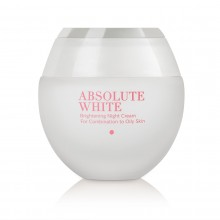 Absolute White Brightening Night Cream for Combination to Oily Skin