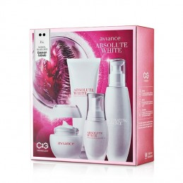 Absolute White Brightening C2G Set for Normal to Dry Skin