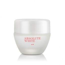Absolute White Brightening Night Cream for Normal to Dry Skin (Compact Size)