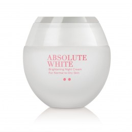 Absolute White Brightening Night Cream for Normal to Dry Skin