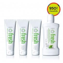i-fresh Multicare Toothpaste & Mouthwash Set
