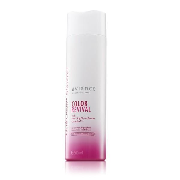 aviance Micro Cream Shampoo Color Revival