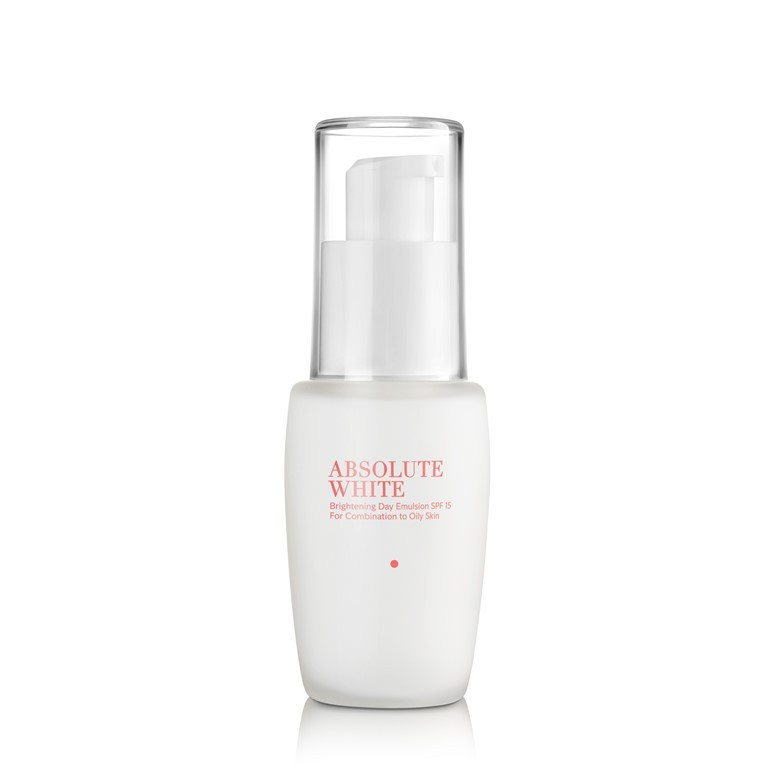 Absolute White Brightening Day Emulsion SPF 15 for Combination to Oily Skin 30ml