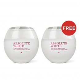Absolute White Brightening Night Cream  -  Combination to Oily Skin