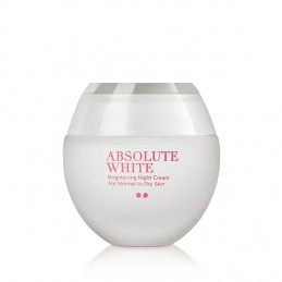 Absolute White Brightening Night Cream  -  Normal to Dry Skin