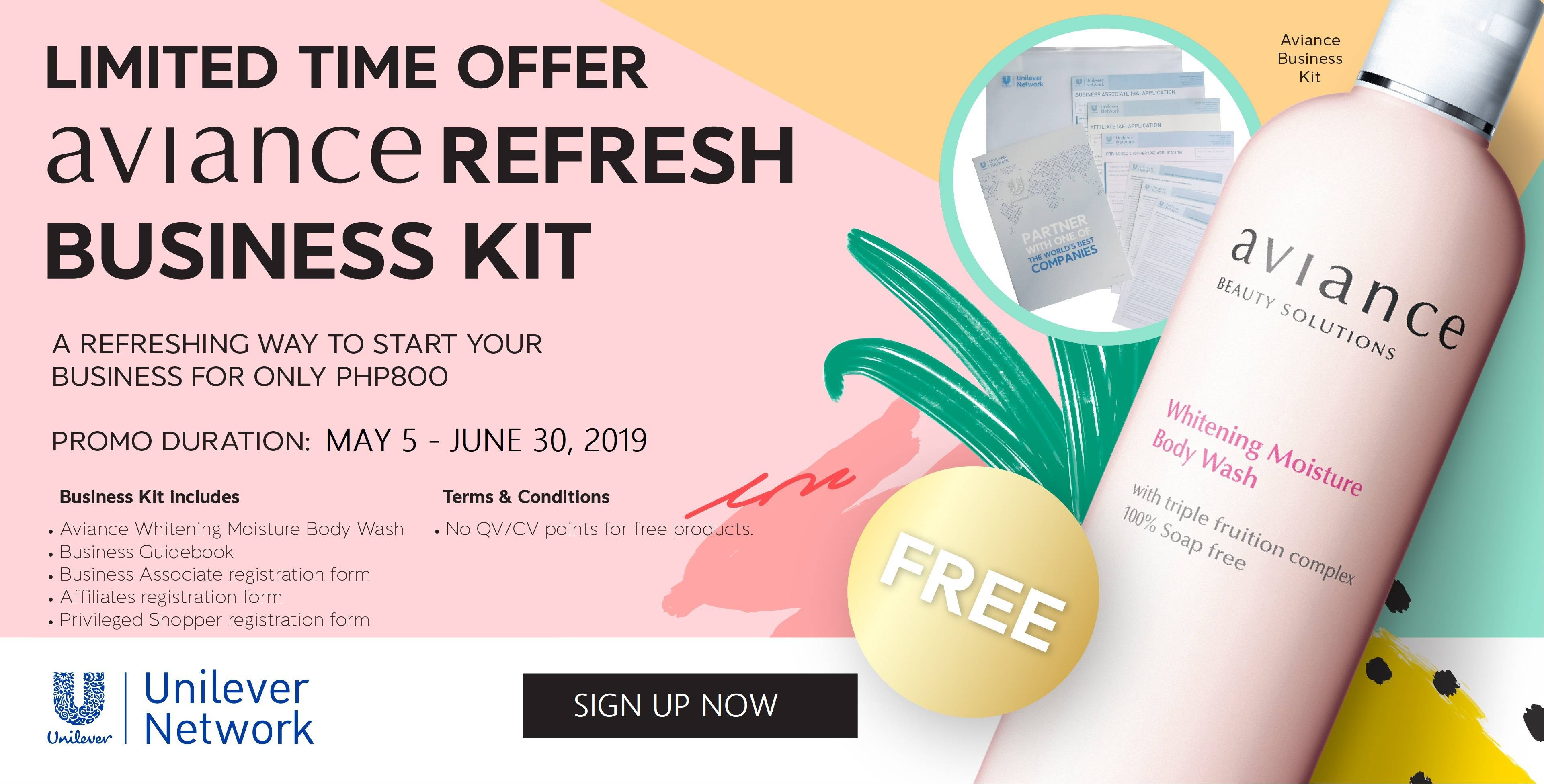 New Fresh Starter Business Kit 2019
