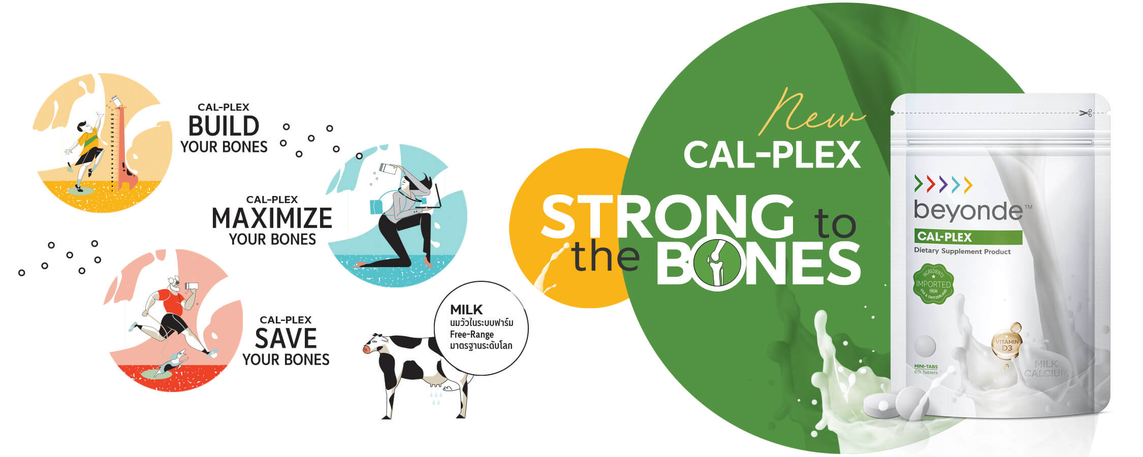 For stronger bones at every age