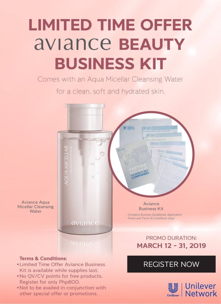 Limited time offer - New BA Beauty Business Kit