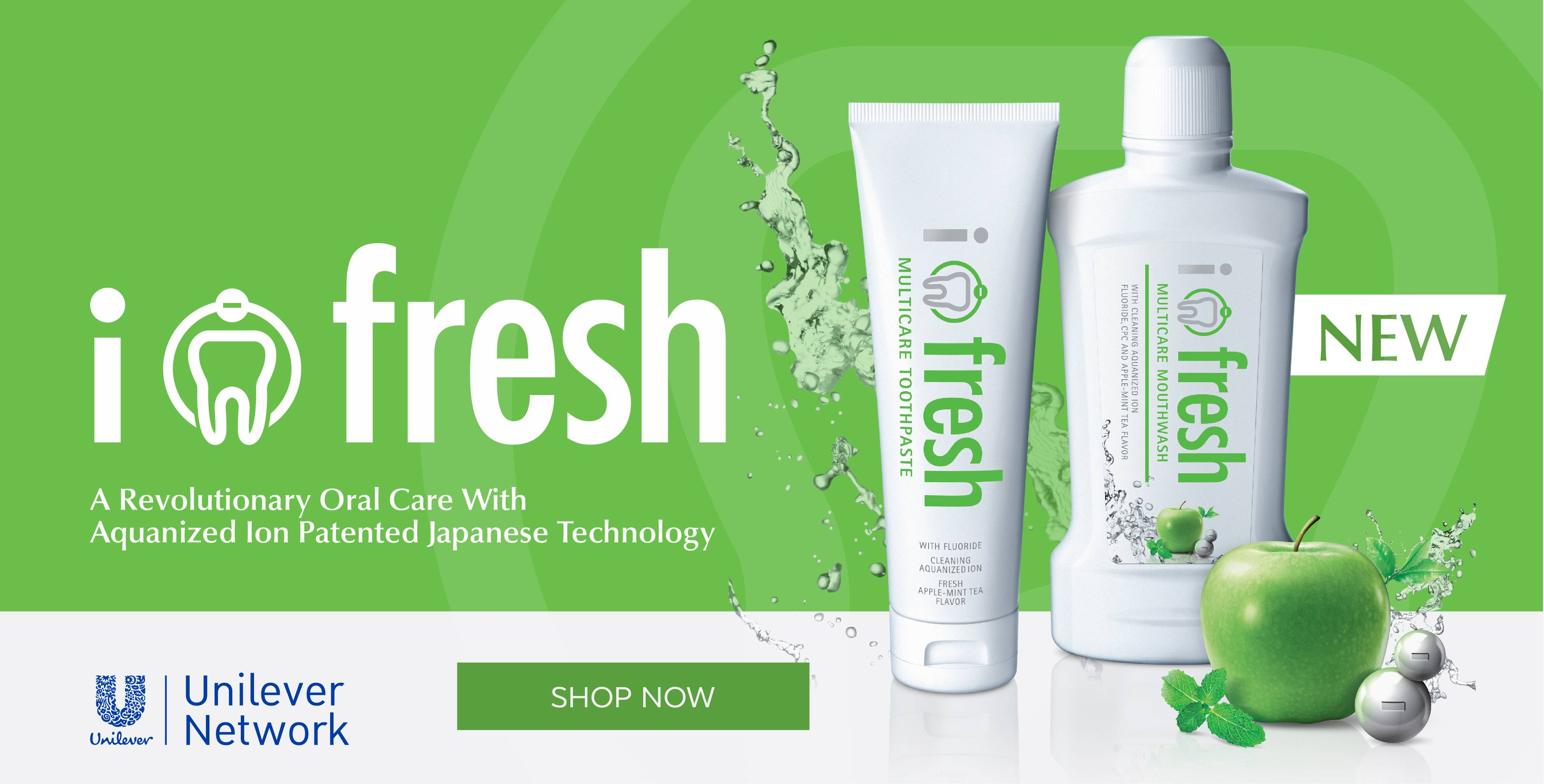 Newly Launch i-Fresh Mouth Wash