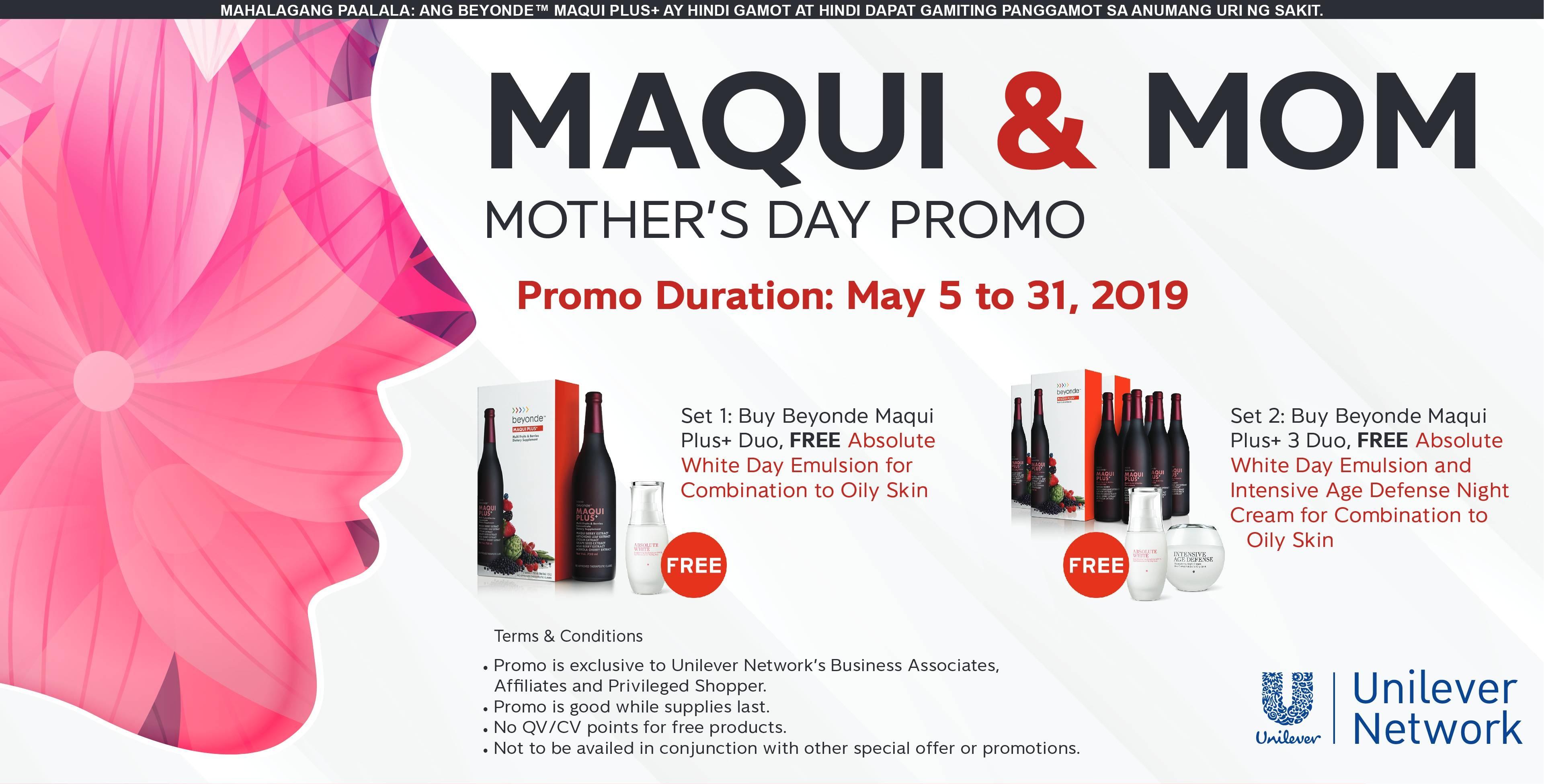 Maqui and Mom 2019