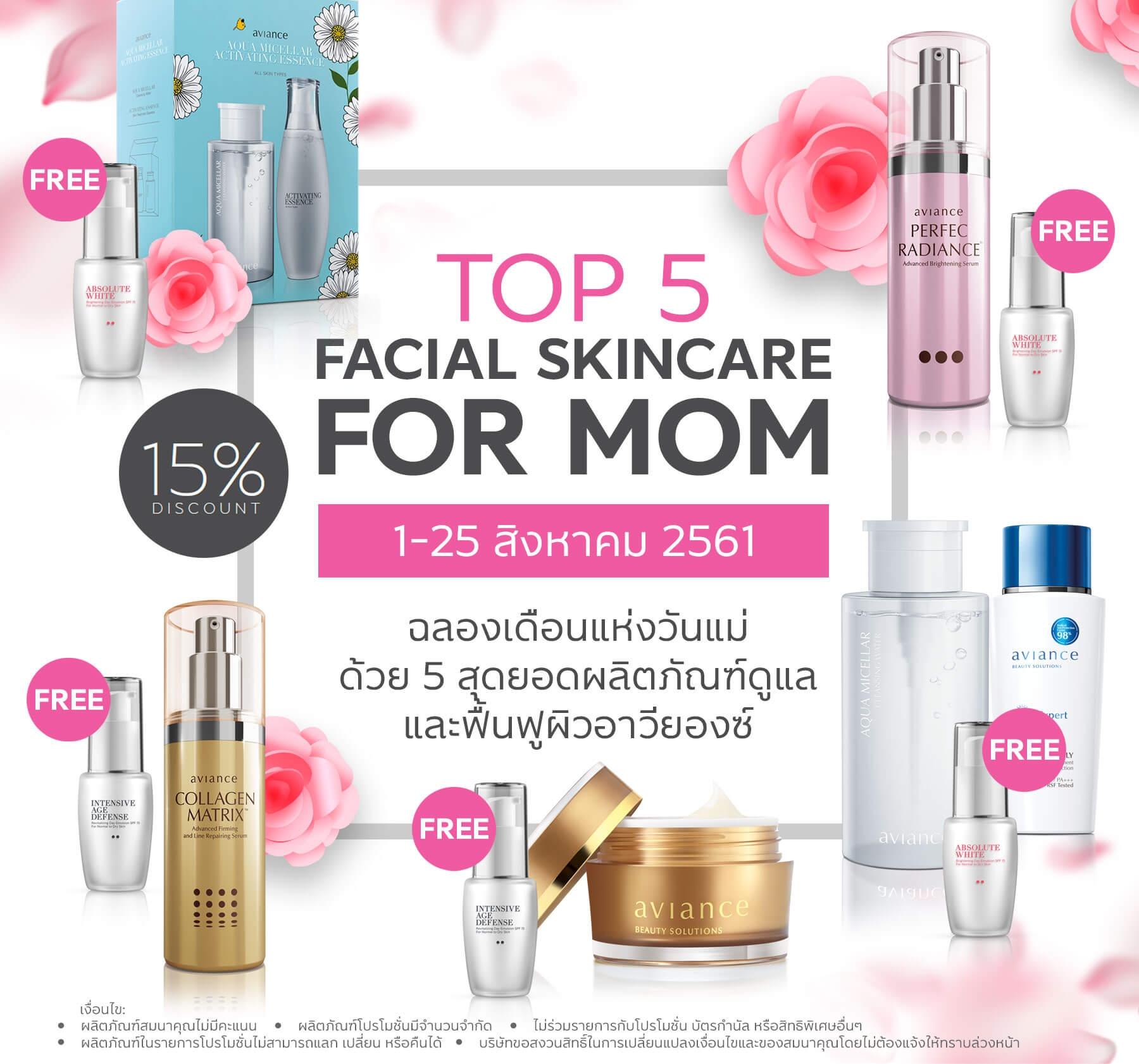 Facial Skincare for Mom 2018